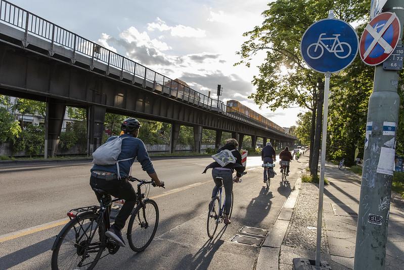 fietspad berlijn