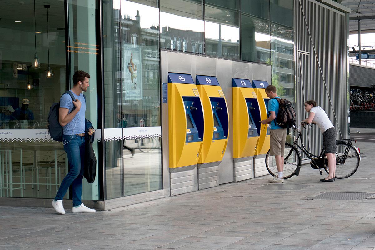 Fietskaartje uit de kaartautomaat