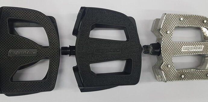 brede pedalen