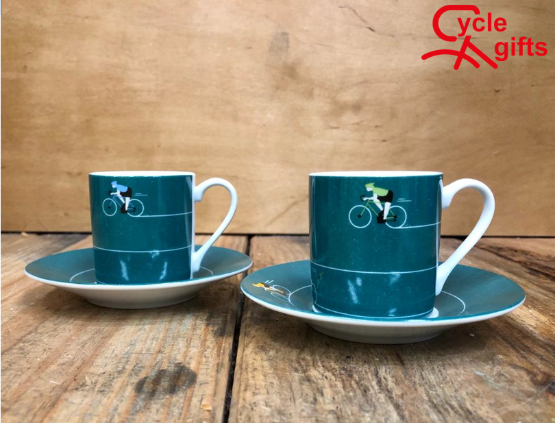 I want to ride my bicycle Espresso set