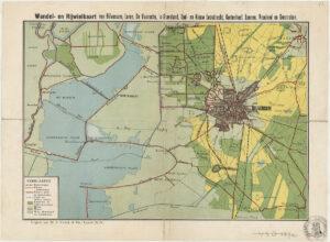 fietskaart 1916