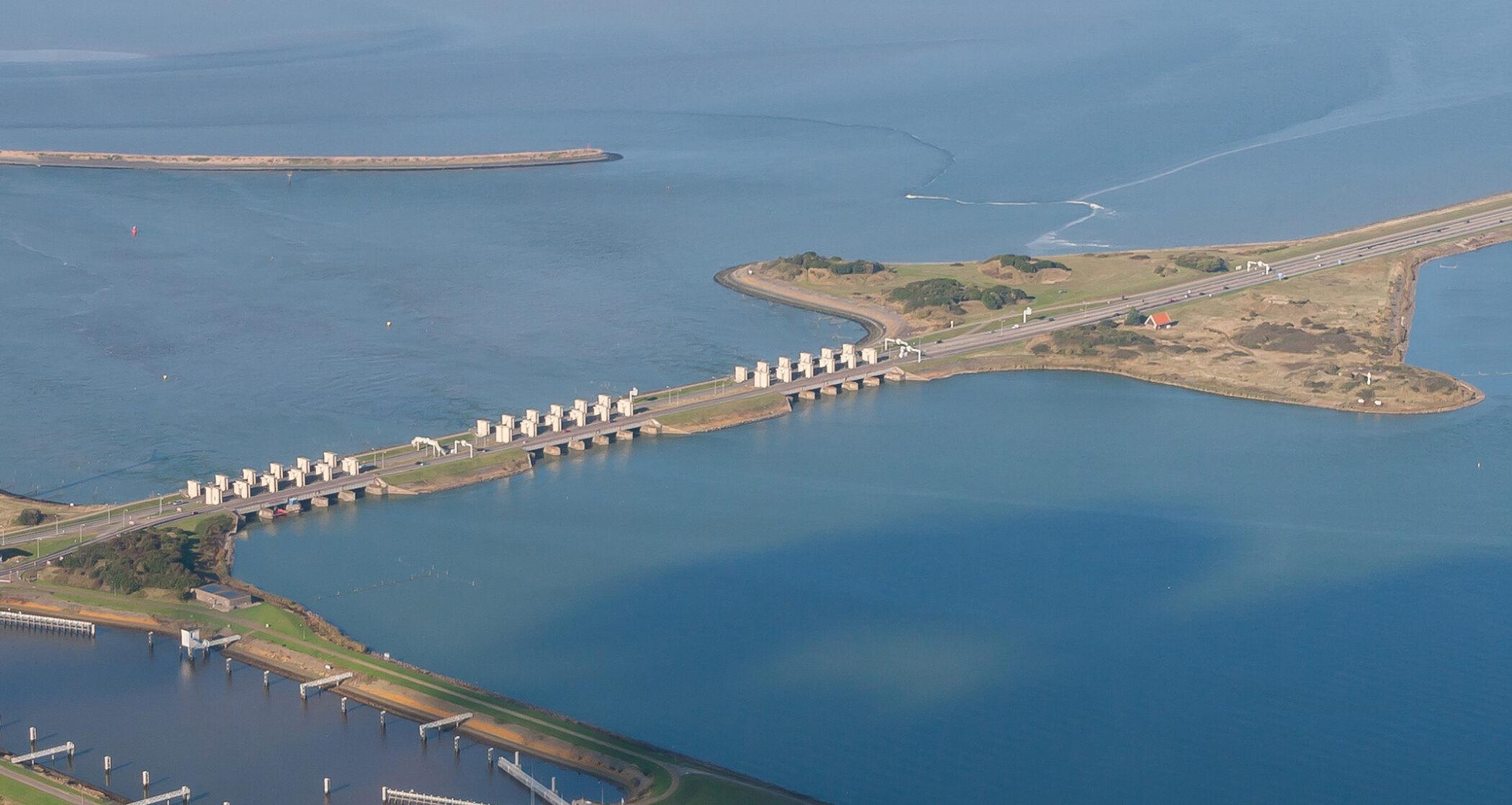 Afsluitdijk_luchtfoto