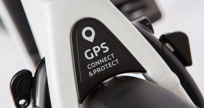 GPS-tracker fiets