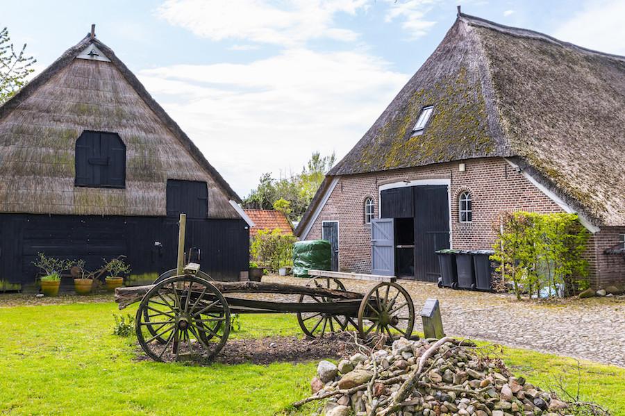Oude boerderij in Gees