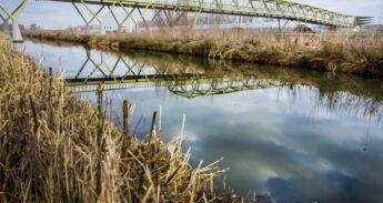 Fietsbrug Rijnveldsche pad