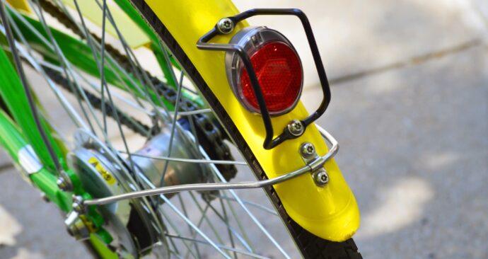 Geel Spatbord bike-3448927_1920