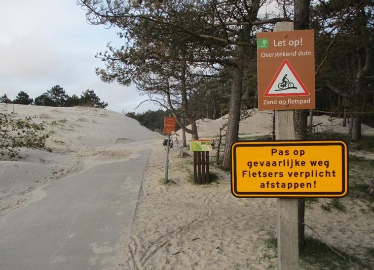 Verstuivingen op Toeristische routes