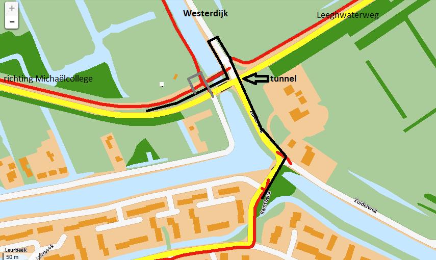 tunnel Leeghwaterweg