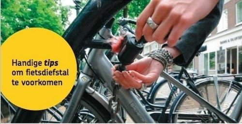 Handige tips fietsendiefstal