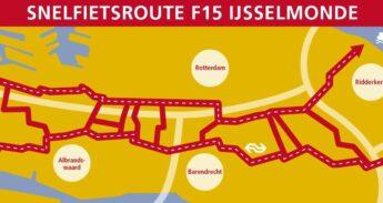 Snelfietsroutes F15 IJsselmonde