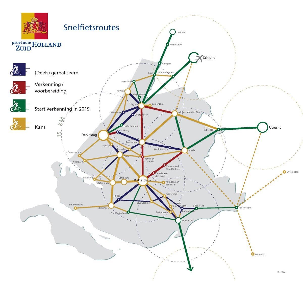 Snelfietsnetwerk Zui-Holland