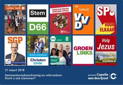 Verkiezingskrant Capelle aan den IJssel