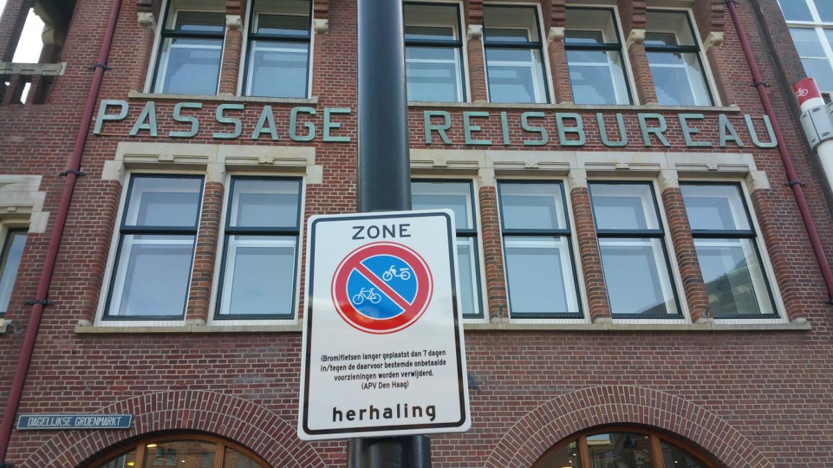Maximumtermijn fietsparkeren binnenstad