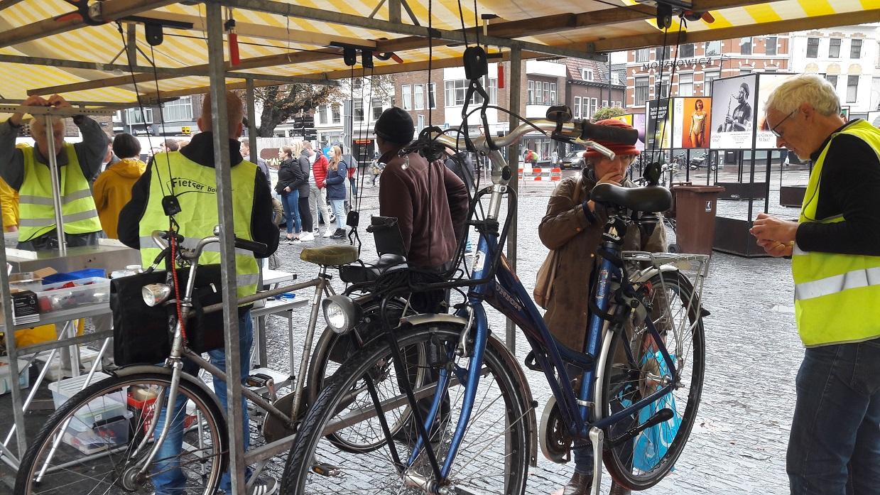 Nieuwe fietsliften