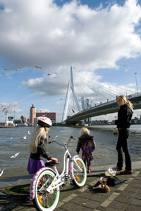 octief zijn in Rotterdam op fietsers gebied