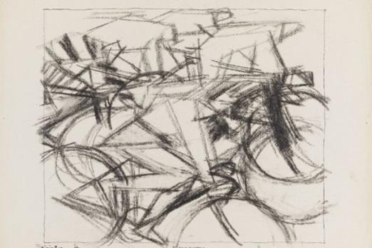 Lyonel Feininger, Wielerwedstrijd