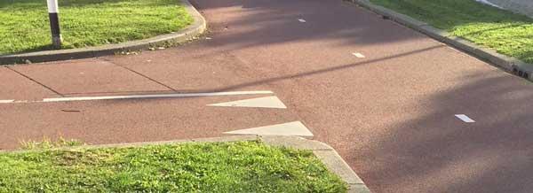 Hoe scherp mogen bochten in fietspaden eigenlijk zijn?