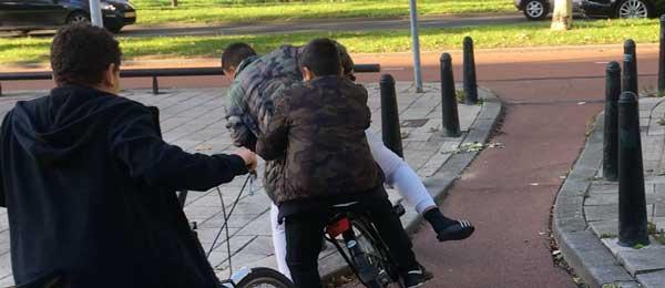 In welke mate worden fietsers in gevaar gebracht door maatregelen om sluipverkeer van automobilisten tegen te gaan?