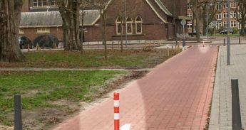 Beoordeling van paaltjes op fietspad tussen Schepenstraat en Walenburgerweg