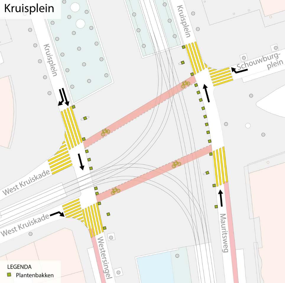 Kruisplein-kaart