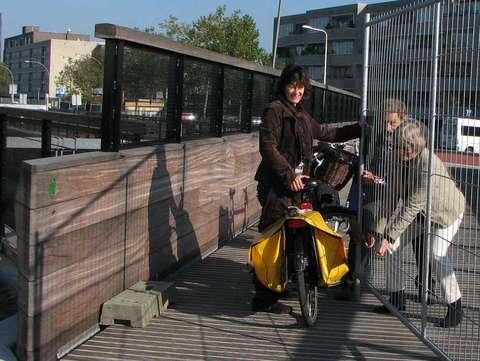 Spoorbrug bij Nieuwstraat