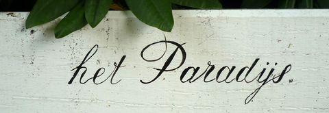 Slagboom bij het Paradijs