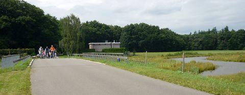 Brug over Doorbraak in Tusveld