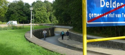 Tunnel in Rentmeesterslaantje