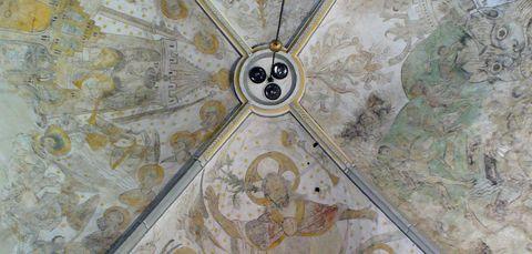 Fresco in Oude Blasius