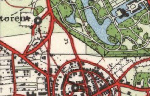 Kaart van Delden Noord