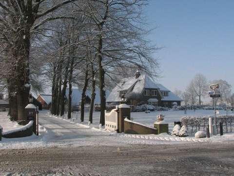 sneeuw op de Ypeloweg