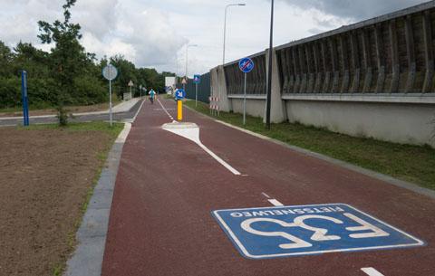 De Badweg vanaf Wierden