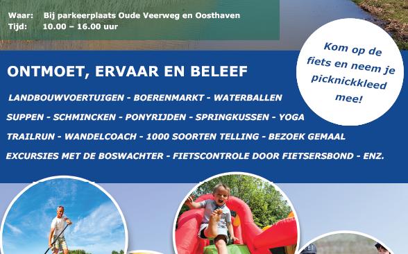 Programma Open Dag Nieuwe Dordtse Biesbosch