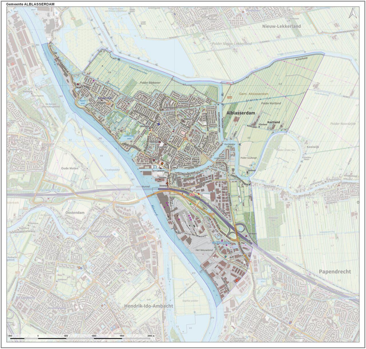 Gem-Alblasserdam-OpenTopo