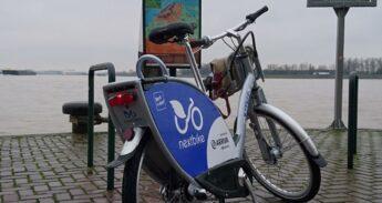 Next bike bij het Groothoofd in Dordrecht