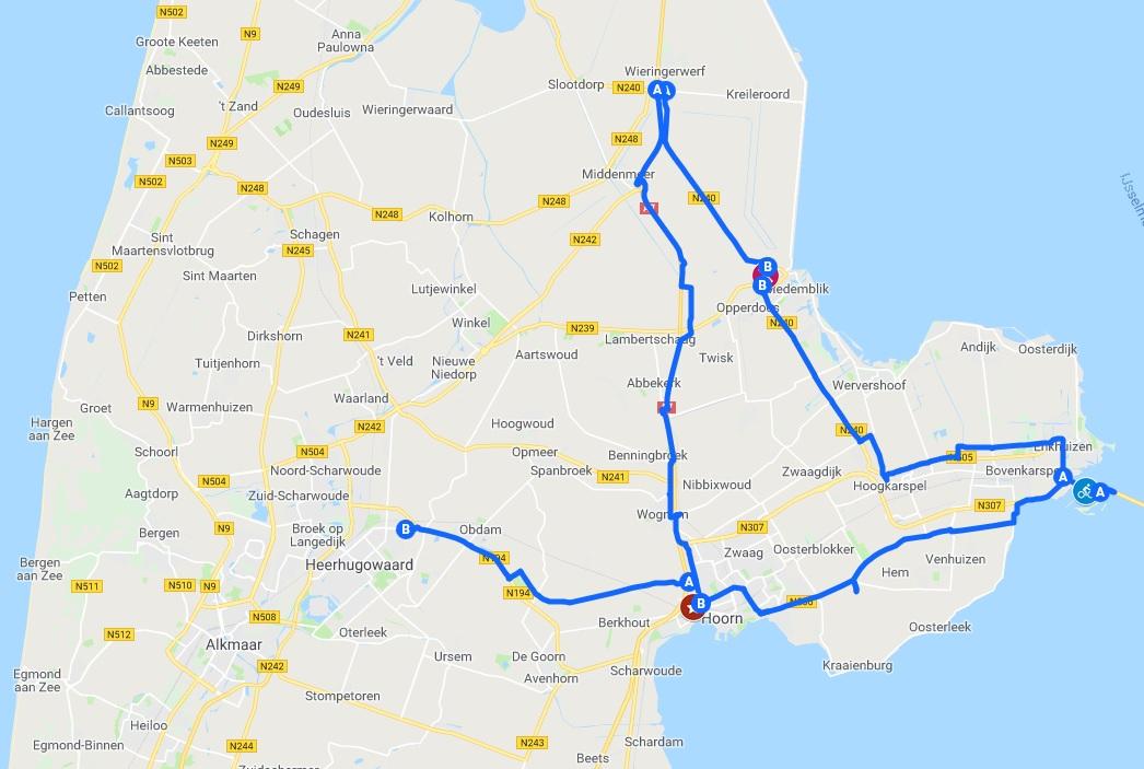 Doorfietsroutes_westfriesland