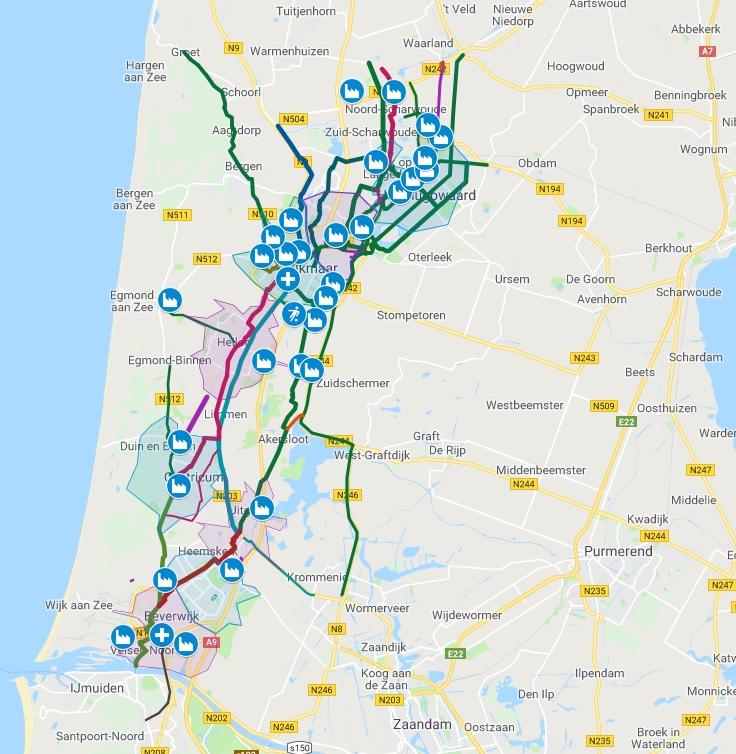 Doorfietsroutes_alkmaar