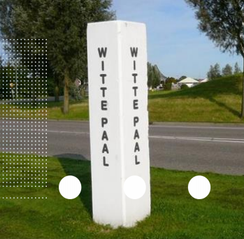 witte paal