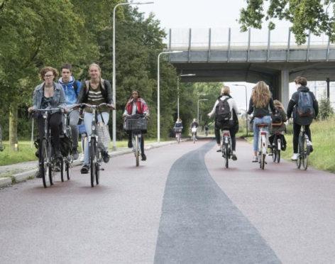 Foto: Fietssnelweg Zwolle-Hattem