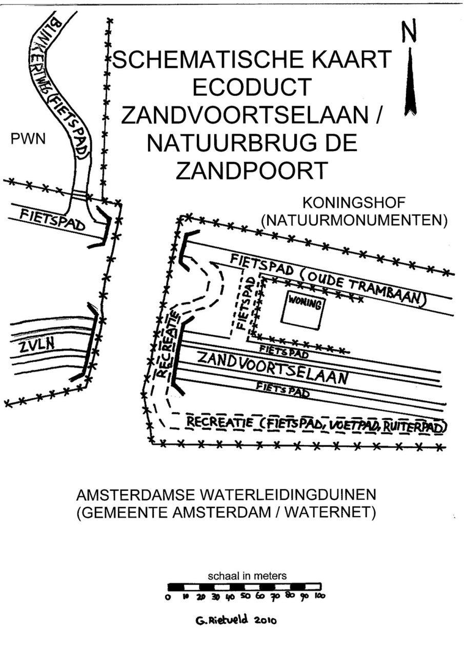 Schematische_kaart_ecoduct_zandvoortselaan