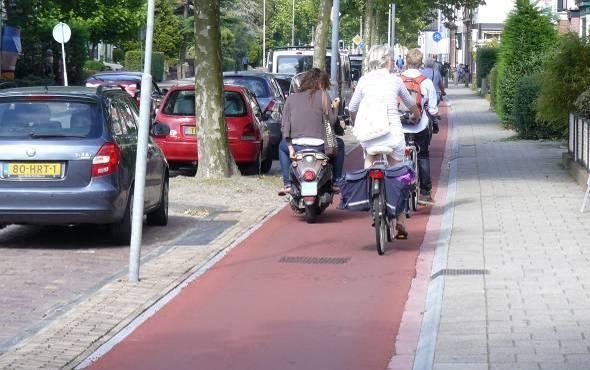 2014-01-25_Dringen_op_fietspaden_Rijksstraatweg