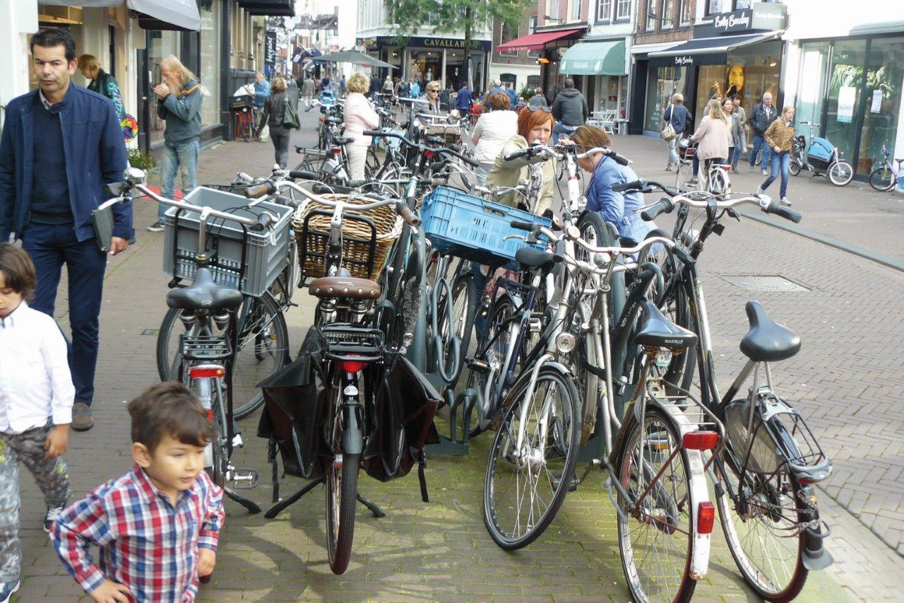 Haarlem Zijlstraat fietsparkeren