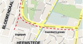 Plan fietspad Houtvaartkade