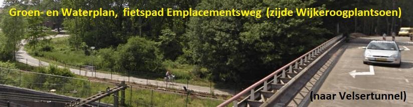 Fietstunnel Velsertraverse-foto fietspad Emplacementsweg