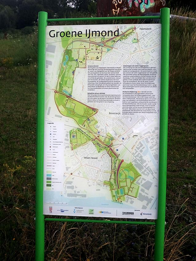 Groene IJmond verkleind