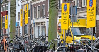 botermarkt:-fietsenrekken-maken plaats-voor-fietsparkeervakken