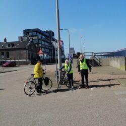 een-aantal-vertegenwoordigers-van-de-fietsersbond-regio-Haarlem-(afdelingen-Velsen-en-Haarlem)-waren-ook-aanwezig-tijdens-het-persmoment.