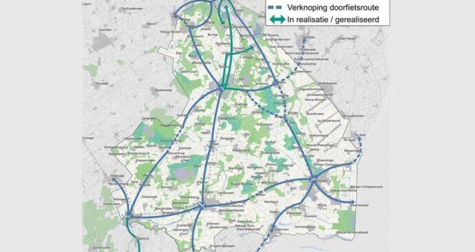 Drenthe-doorfietsroutes
