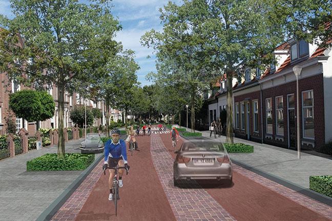 Voorlopig ontwerp fietsstraat Halsterseweg
