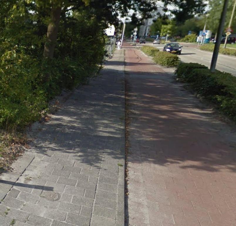 Ongelijkvloerse fietsovergang